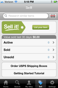 How to Post your iPhone images to Ebay