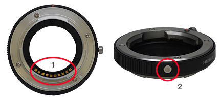 Fuji Adapter for Fuji X-Pro1 to Leica M mount Lenses